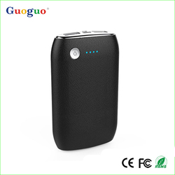 Guoguo led torch dual USB 7800mAh portable max mars power bank for mobile phones