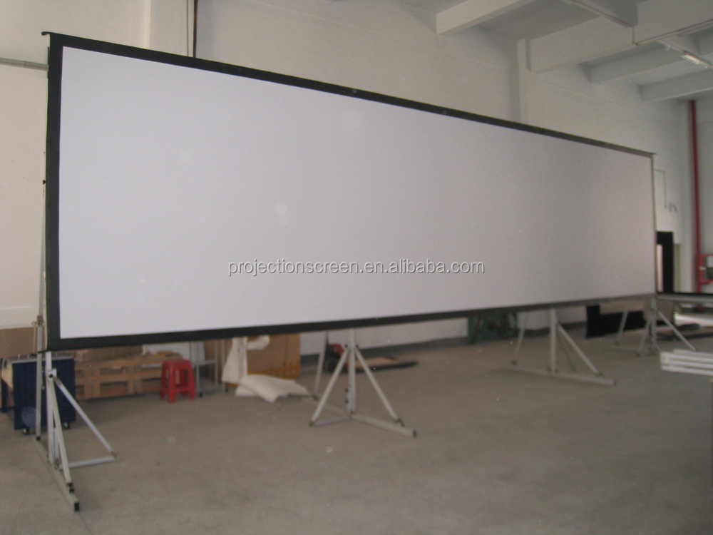 "fast fold screen with roadcase 60""-400"""