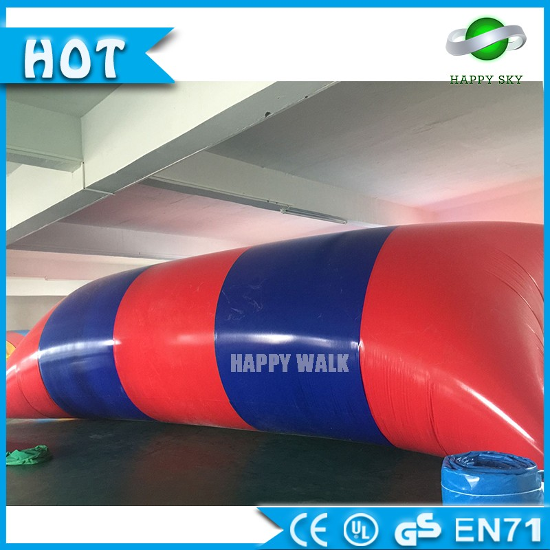Happy Sky Toys!! Inflatable pillow for adults, water park inflatable jumping pillow, float water blob jumping trampoline