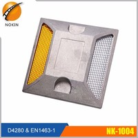 Double sides traffic safety aluminium reflective studs for road marking