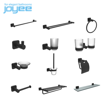 JOYEE new style bathroom accessories sets in black