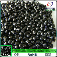 2017 New item abs/ hips/gpps/pe/pp/pvc raw plastics black masterbatch for universal plastics