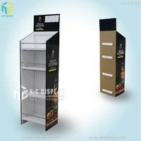 Cardboard display stand for wine display stand&paper display shelf