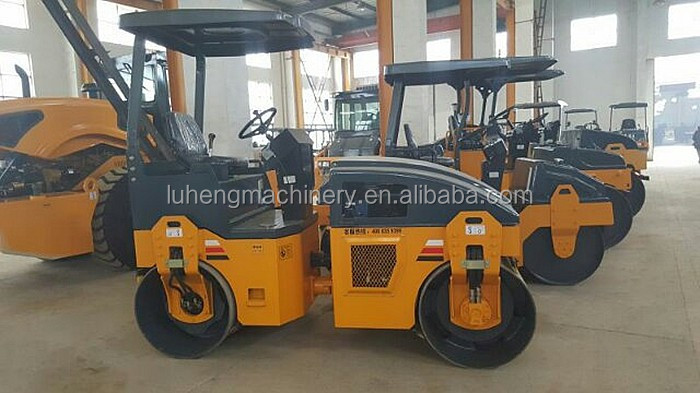 Plastic,heavy duty three wheel,high efficiency self-propelled vibratory road roller, road roller in road roller SYW-175