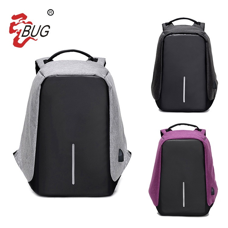 Factory Price New Fashion Business Travel Usb Charging Laptop Bag Antitheft Backpack