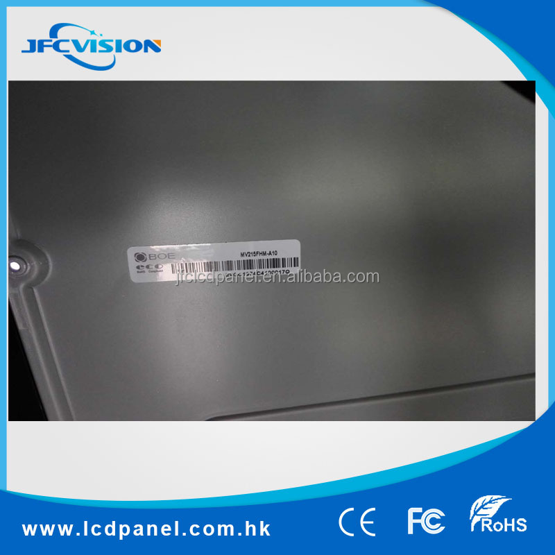 21.5 inch BOE bulit-in 8 wire resisitive touch LCD panel MV215FHM-A10