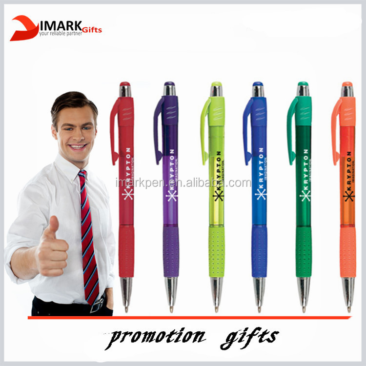 customized logo printed ball pen promotion stick pen