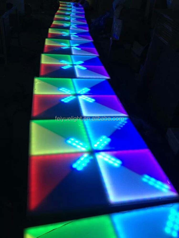 Dj Equipment New Effect Led Acrylic Dance Floor Portable
