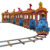 2018 Attractive Kiddie Indoor Games Electric Jungle Animal Train for sale