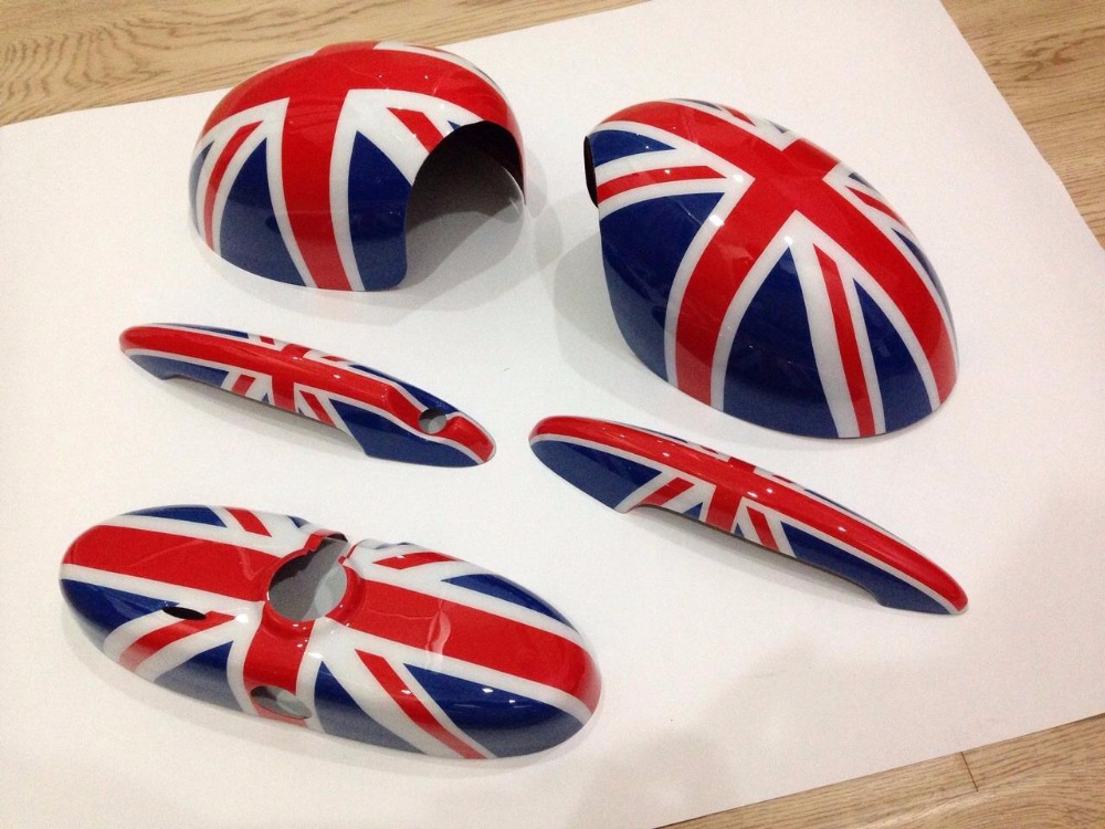 2016 plastic mini cooper car mirror cover for sale