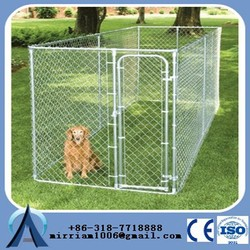 2015 Heavy duty galvanized large dog kennel