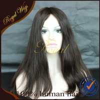 Best Quality Mogolian Human Hair Silk Top Lace FrontJewish Wig Kosher Wigs Sheitel wigs In Stock