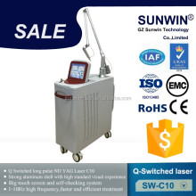 Laser Medical Clinical Use Q Switch Nd Yag Laser / Tatoo Removal Laser Machine
