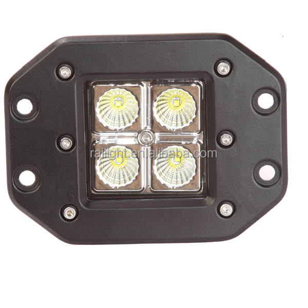 cree 20w flush mounted led pod led work light