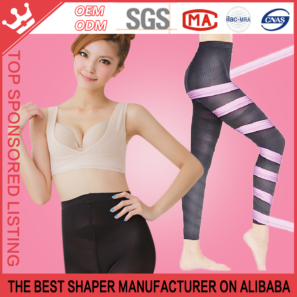 Medical Compression Varicose Vein Seamless Pantyhose Tights For Women k01