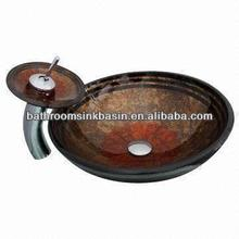 oval marble basin sink double handle sink mixer faucet basin artistic hand made pottery sink basin