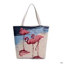 2018 New Arrive Fashion promotional heavy duty cotton canvas shopping tote bag