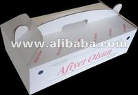 Lahmacun Box Pide Box carton box baklava box doner box cupcake take out box take away box food box