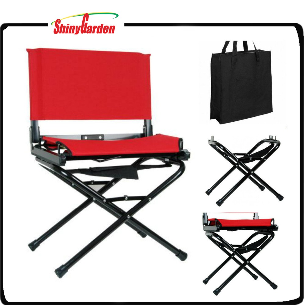 Portable Folding Bleacher Seats Stadium chair with Legs and Carry Bag