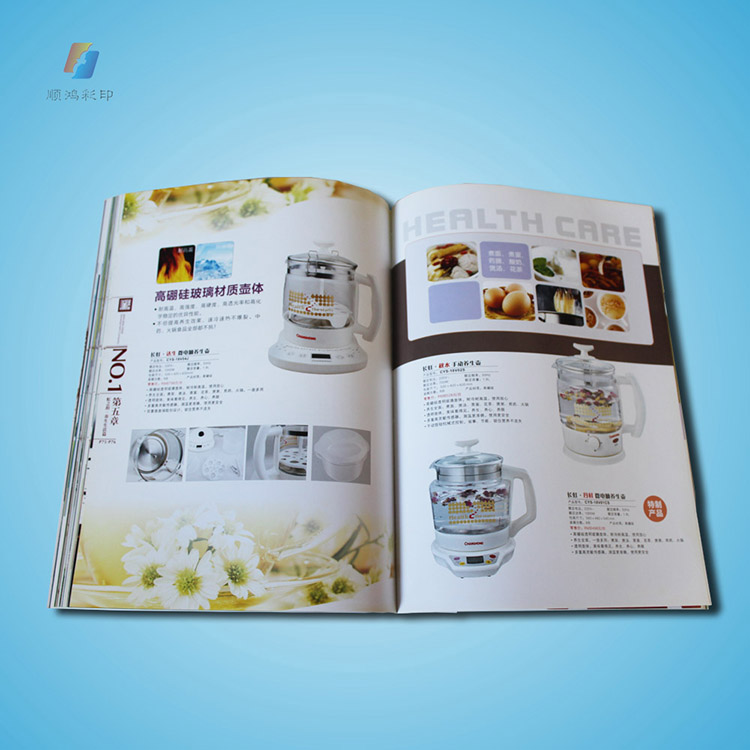 Factory Supply New Fashion Unique Customized Colorful Ex Catalogue