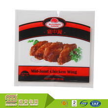 Clear Flexible Custom Printed Chicken Plastic Bags For Frozen Chicken Packaging