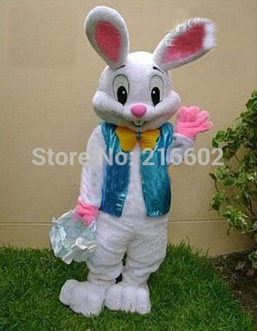 MOON BUNNY 2016 Sell Like Hot Cakes Professional Easter Bunny Mascot costume Bugs Rabbit Hare Adult Wholesale MOQ 1 set
