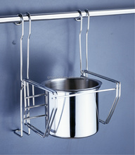 Metal Kitchen Wall Mounted Hanging Detachable Single Cup Rack/Wall Cup Holder ( 900.140.000 )