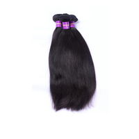 Alibaba Virgin Human Hair Weft Straight Wave 14 Inch Cheap Unprocessed Natural Raw Indian Hair