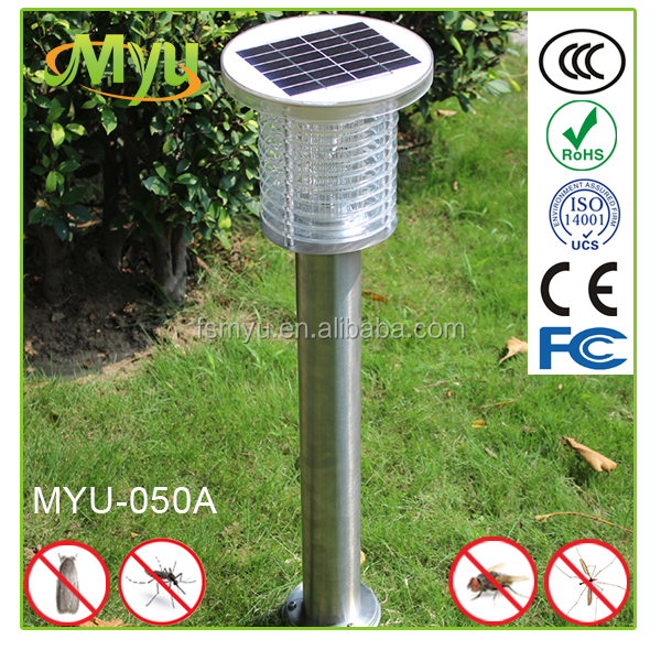 High efficiency solar mosquito killer lamp attract insect killer