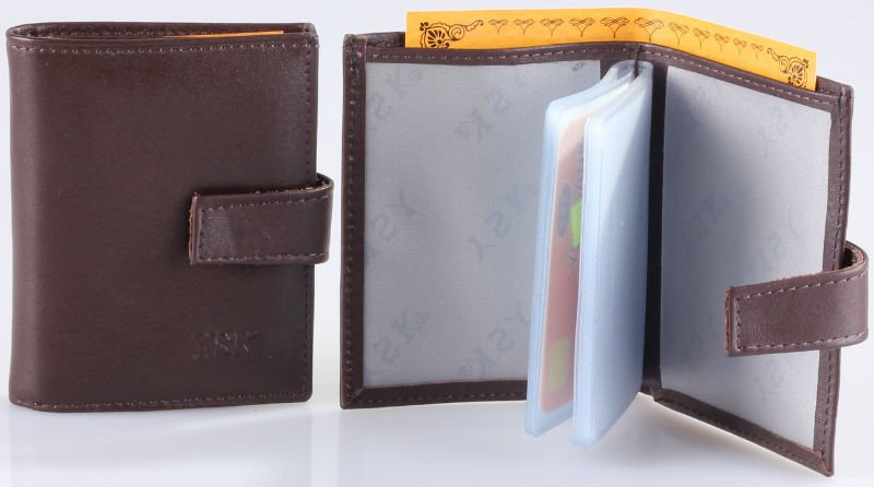 Genuine Leather Card Case / Holder Model No : CCDK-2