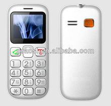 Quad Band /Bluetooth /Dual sim /Color screen Senior Citizen Cell Phone with Large buttons & Icons