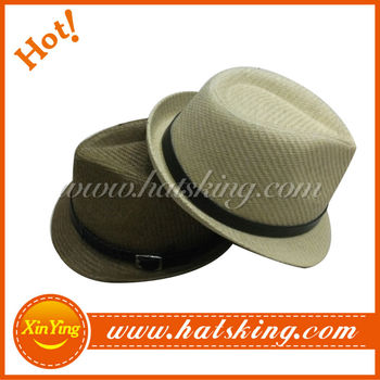New arrival high fashion men's fedora infant straw hat