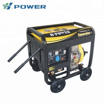 5KW used diesel welder generator for sale