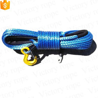 5 16inx40ft Synthetic UHMWPE Winch Rope
