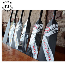 Durable 130 cm lucido full carbon dragon boat paddle