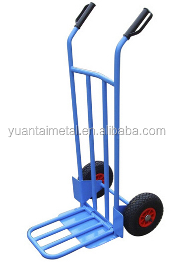 china industrial heavy duty two wheel foldable handtruck HT1893