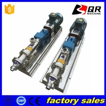 G Type Sanitary Single Screw Pump for Food Grade Industry