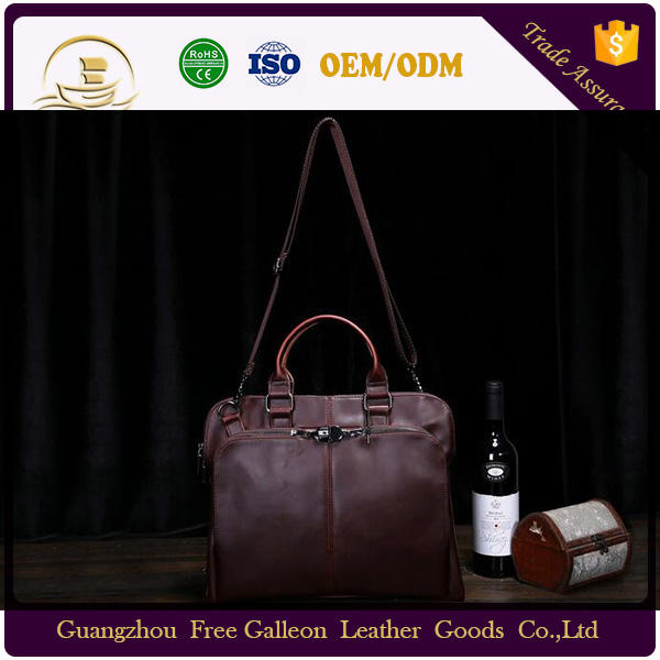 Shoulder bag Super quality newest men executive leather briefcase for lawyers handbag