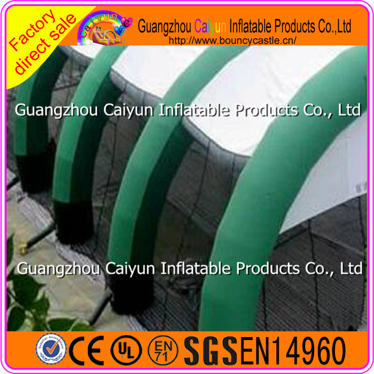 Commerial Giant Inflatable PVC Tent Tunnel Tent for Events/Advertising/Trade Show/Party Used