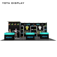 Yota offer Booth Rental in Shanghai,Hot sale,10ft by 20ft Exhibition booth Contractor