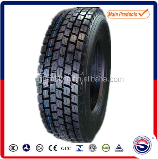 china heavy load capacity tubeless truck tire 315 80 R22.5 for Long distance trucks