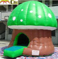 CILE Inflatable Mushroom Bouncy Castle