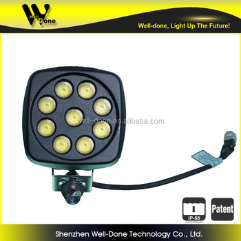 27W mini rechargeable led worklight, 27W truck tail light IP68