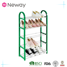 Professional Design Stainless Steel Tiers Simple Shoe Rack