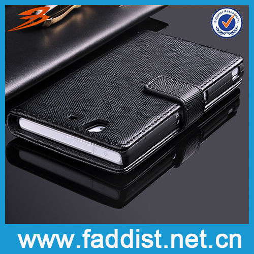 Case Housing for Sony Xperia Z L36H Wallet Case New Product