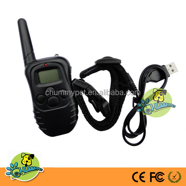 998DR Remote Dog training collar with Rechargeable and Waterproof