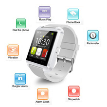 U8 Bluetooth Watch Smart Wristwatch Phone Mate for Smartphones IOS Apple Iphone Android Samsung S2/s3/s4/s5/note 2/note 3 HTC