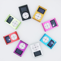 Classic Mini Portable UP to 32 GB Aluminum Clip MP3 LCD Screen With Card Slot MP3 Player