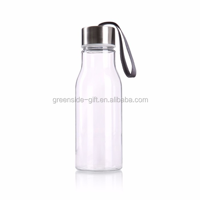 Greenside Promotional custom clear plastic drinking water bottle