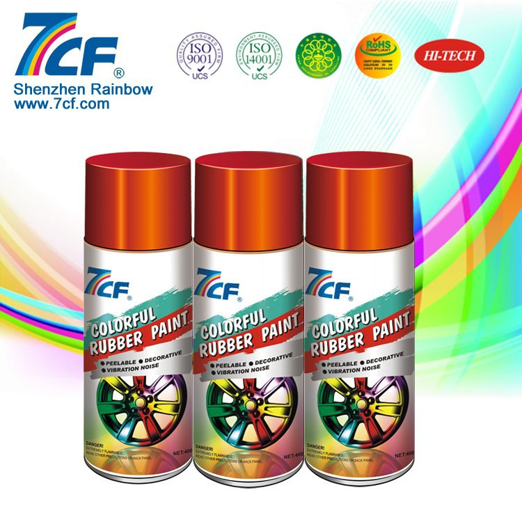 Peelable Plastic Dip Rubber Car Rim Spray Paint , Rubberized Paint